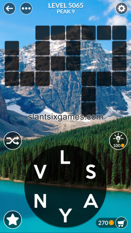 Wordscapes level 5065