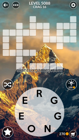 Wordscapes level 5088