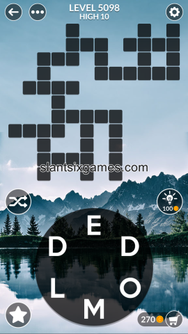 Wordscapes level 5098