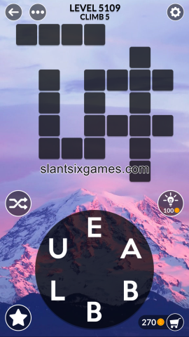 Wordscapes level 5109