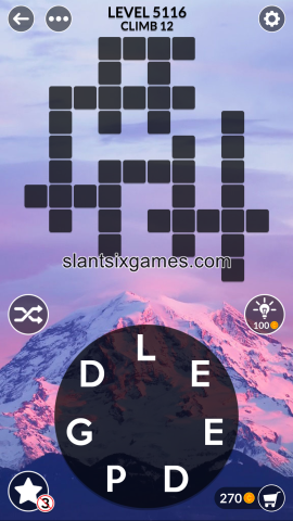 Wordscapes level 5116