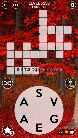 Wordscapes level 5133