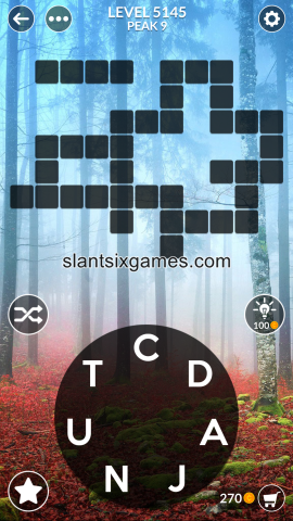 Wordscapes level 5145
