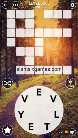 Wordscapes level 5165