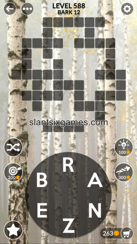 Wordscapes level 588