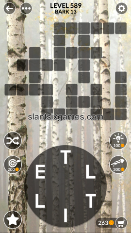 Wordscapes level 589