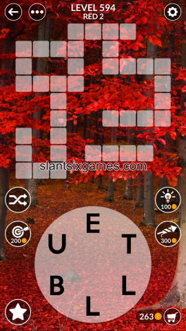 Wordscapes level 594