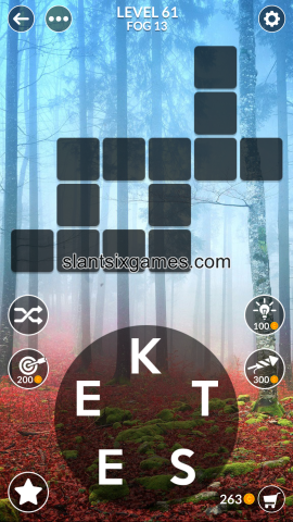 Wordscapes level 61