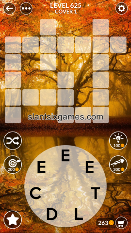 Wordscapes level 625