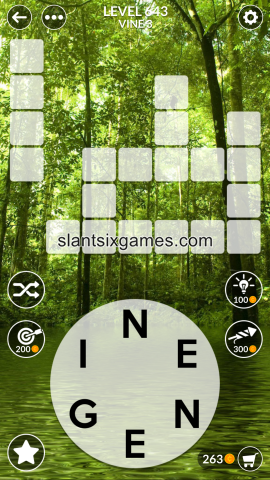 Wordscapes level 643