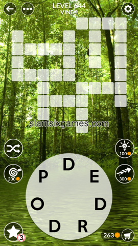 Wordscapes level 644