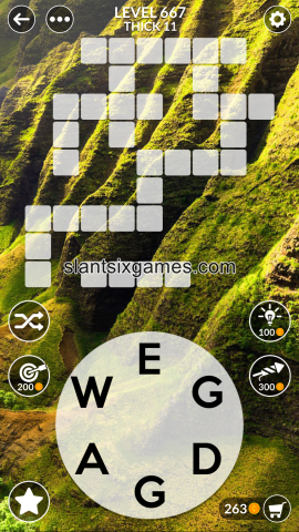 Wordscapes level 667