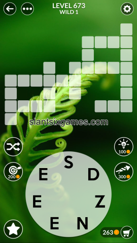 Wordscapes level 673