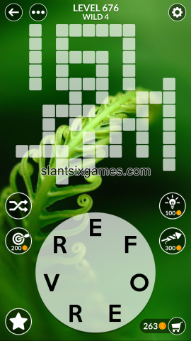 Wordscapes level 676