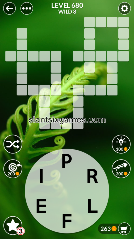 Wordscapes level 680