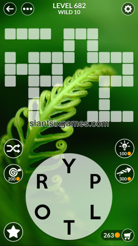 Wordscapes level 682