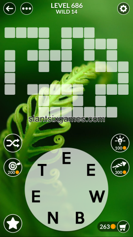 Wordscapes level 686