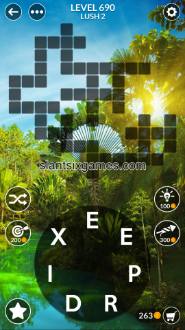 Wordscapes level 690