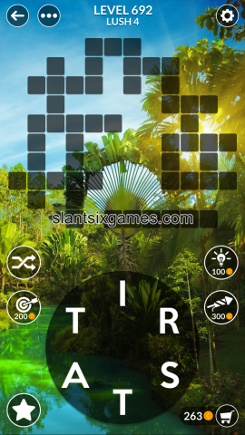 Wordscapes level 692