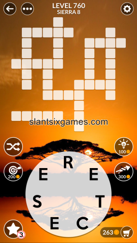 Wordscapes level 760