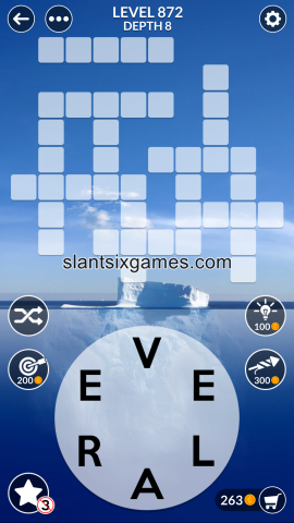 Wordscapes level 872