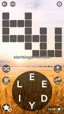 Wordscapes level 933