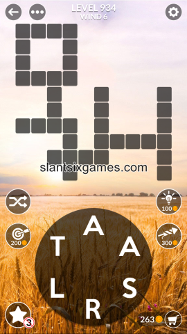 Wordscapes level 934
