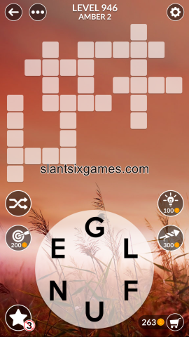 Wordscapes level 946
