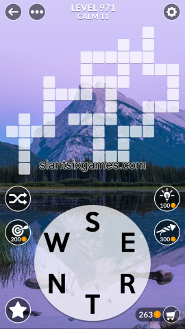 Wordscapes level 971