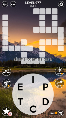 Wordscapes level 977