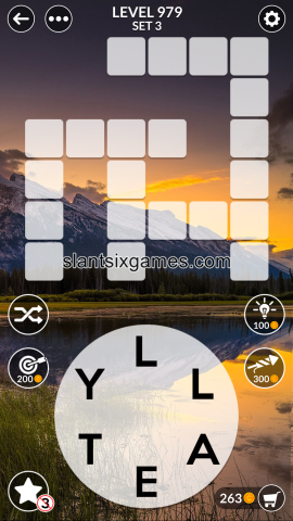 Wordscapes level 979