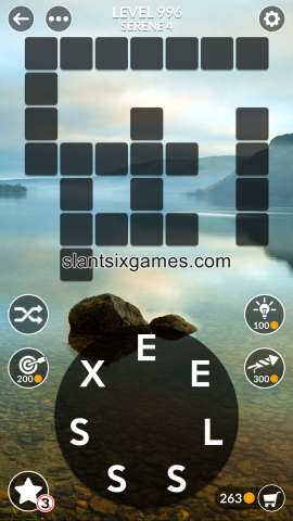 Wordscapes level 996