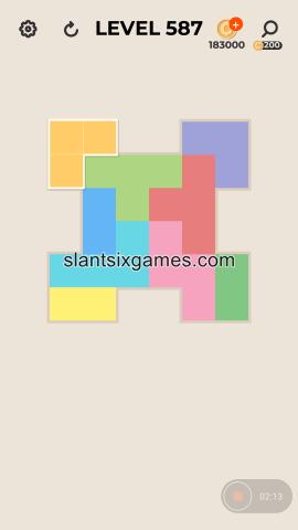 Zen block level 587