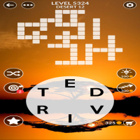 Wordscapes level 5324