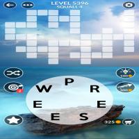 Wordscapes level 5396