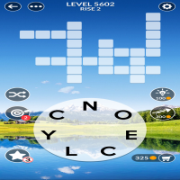 Wordscapes level 5602