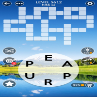 Wordscapes level 5612