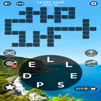 Wordscapes level 5648