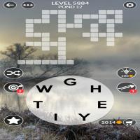 Wordscapes level 5884
