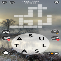 Wordscapes level 5885