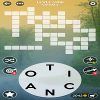 Wordscapes level 5908